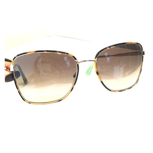 b444b6cfe222 Prada Accessories - PRADA Sunglasses with tortoiseshell   gold frame